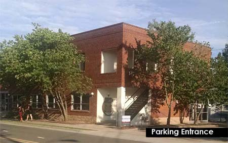 Photo: 103 W. Weaver St, Carrboro - Parking Entrance