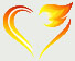 Flaming Heart Graphic